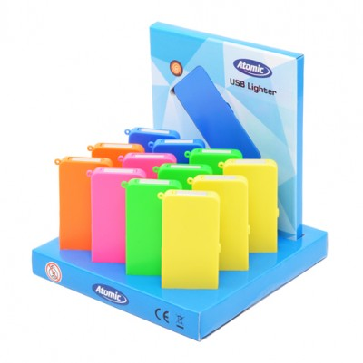 AT-USB Lighter Square Neon